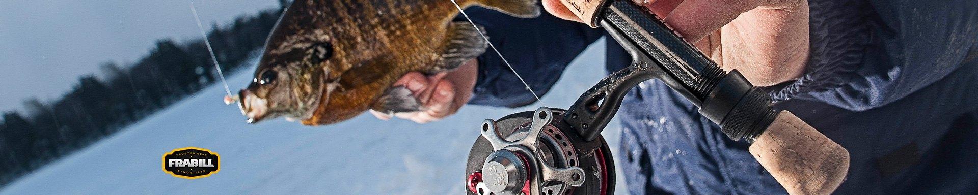 Frabill Fishing Nets Bibs Ice Suits Bait Buckets