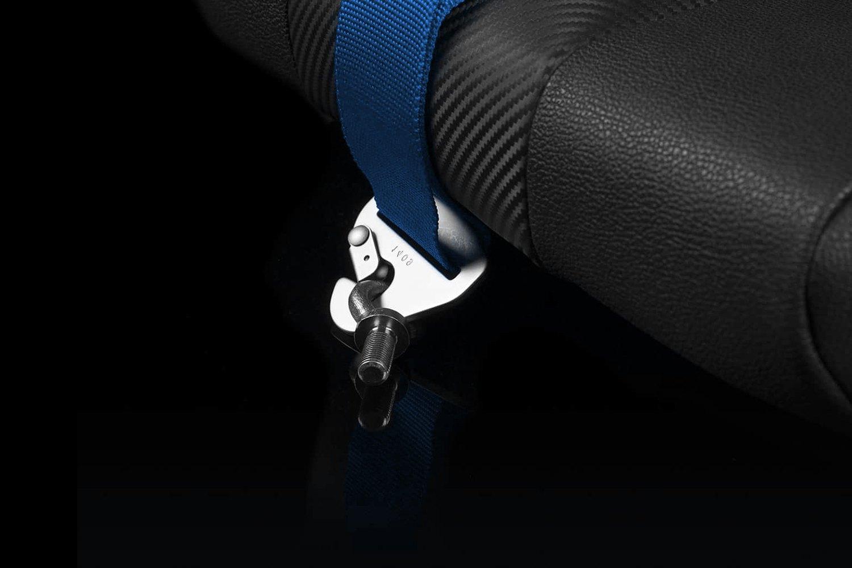 Braum® BRH-BUS5 - 5-Point Harness Set, Blue, 3