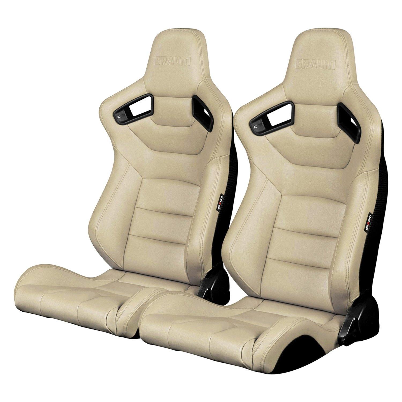 braum brr1 bgbw elite series sport seats beige leatherette ebay. Black Bedroom Furniture Sets. Home Design Ideas