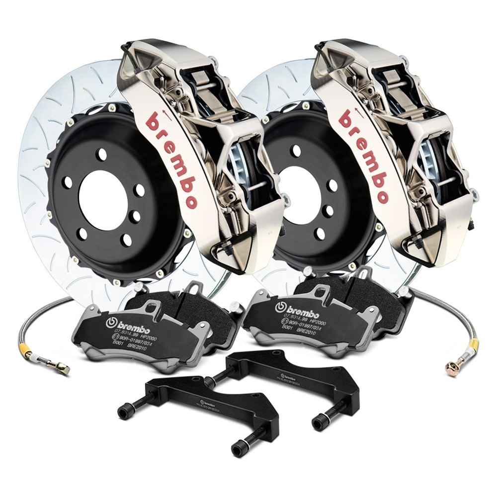 Brembo Brake Kit >> Brembo Gt R Series Curved Vane Type Iii Rotor Brake Kit