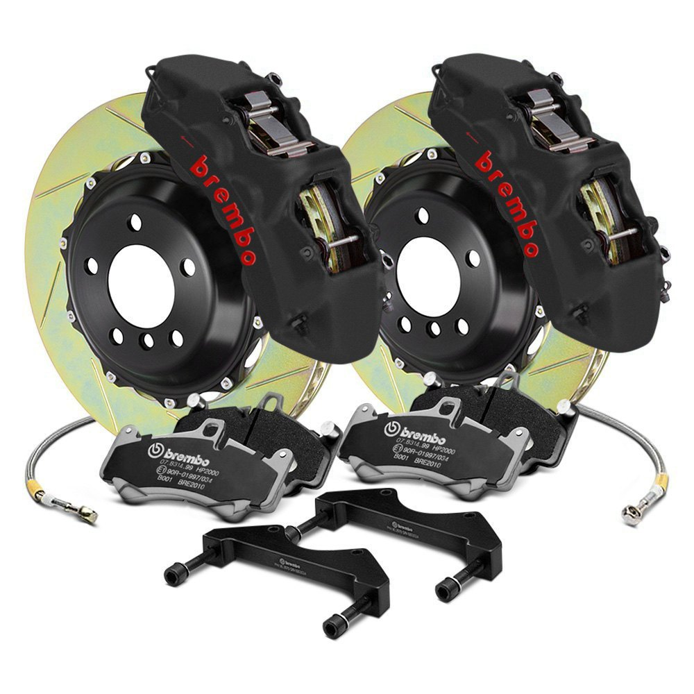 for Nissan 350Z Front Brake Discs Upgrade and Brembo Pads