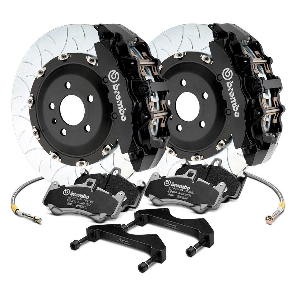 Brembo® - GT Series Curved Vane Type III Rotor Brake Kit