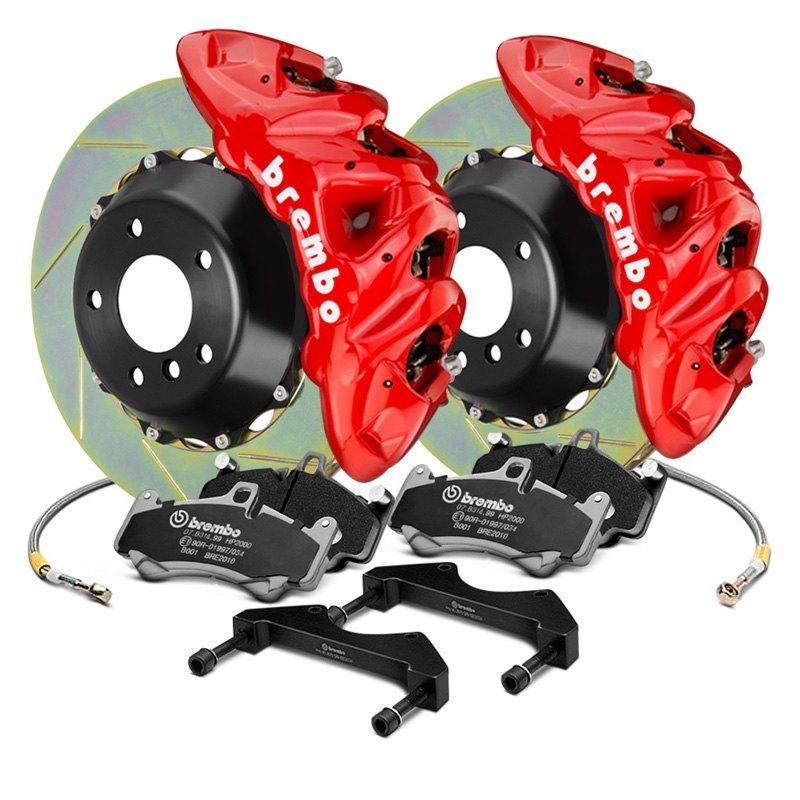 Brembo Brake Kit >> Brembo Gt Series Slotted 2 Piece Rotor Brake Kit