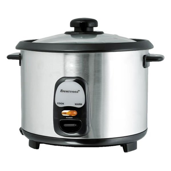 Brentwood Appliances 20 Cup Rice Cooker Stainless Steel Ebay
