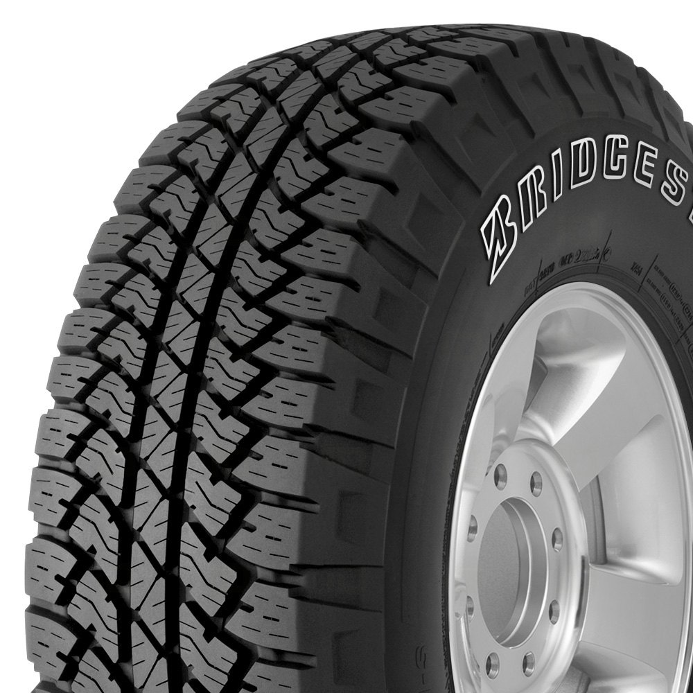 Bridgestone 174 Dueler A T Rh S With Outlined White Lettering