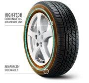 Bridgestone - DriveGuard High-Tech Cooling Fins