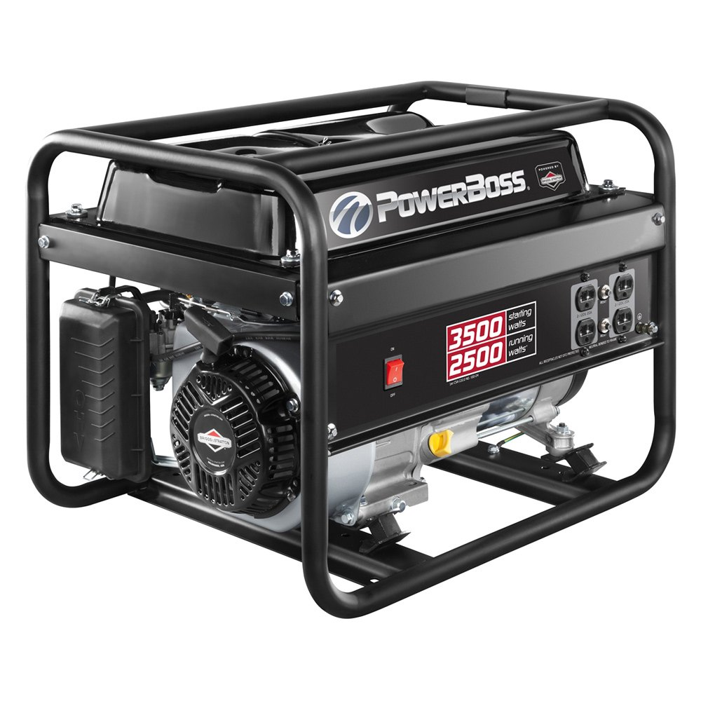 how to turn on a portable generator