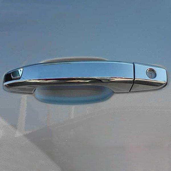 Brite chrome chevy silverado 1500 2500 hd 3500 hd for 03 silverado door handle replacement