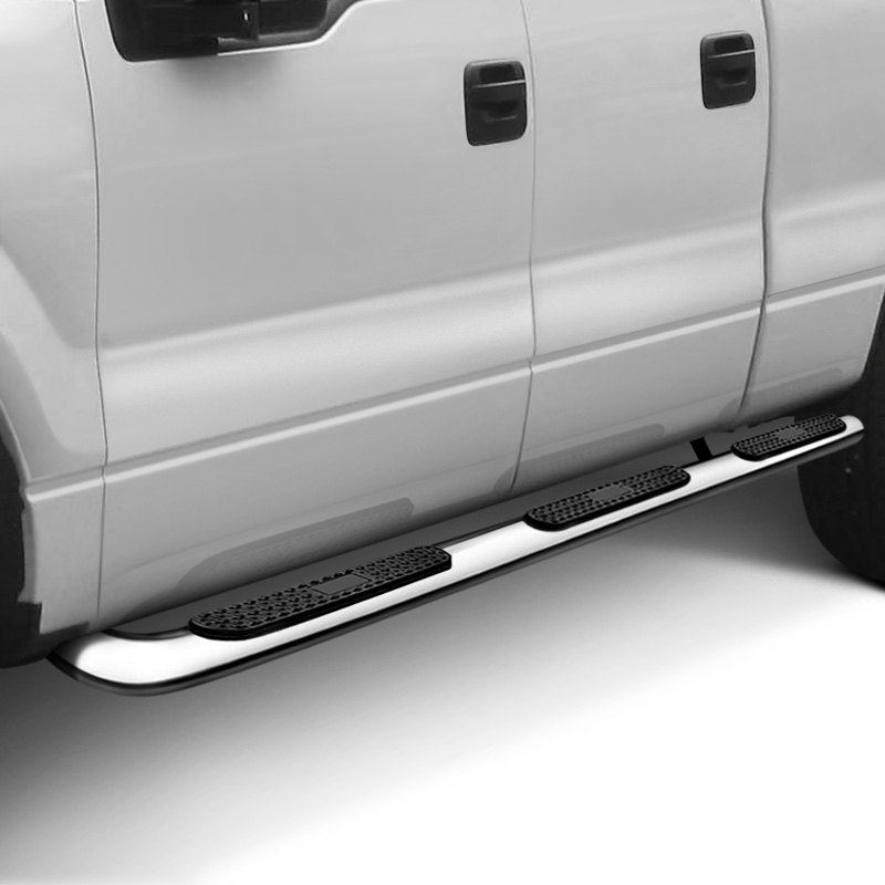 """4 Inch Running Boards Side Step For Ram 1500 2500 3500: Dodge Ram 2500 / 3500 8' Bed 2015 4"""" Wheel-to"""