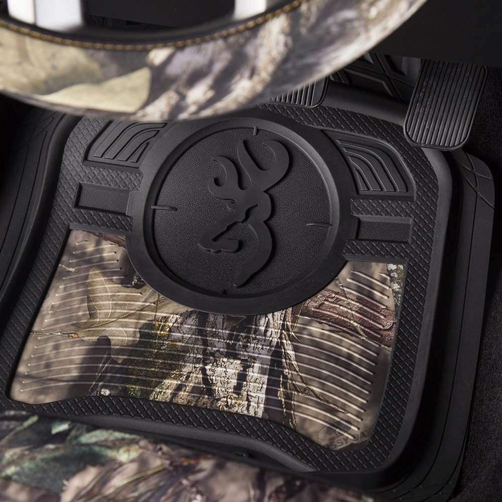 browning ducks wheel and com unlimited mossy floor oak mat amazon mats cover pc kit covers blades auto camo accessories steering dp seat
