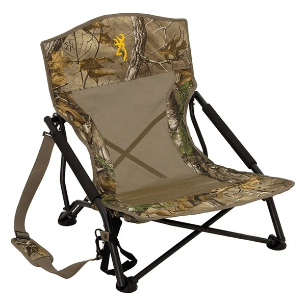 Browning Strutter Folding Chair with Arms Realtree Xtra