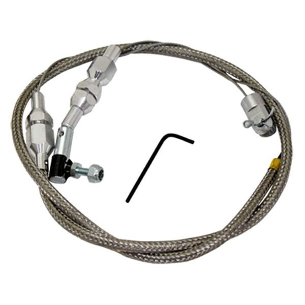 Cut To Fit Throttle Cable : Btp quot stainless steel throttle cable
