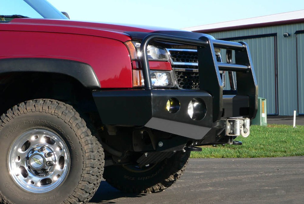 buckstop chevy silverado 2500 hd 3500 2001 outback full width front hd bumper with grille. Black Bedroom Furniture Sets. Home Design Ideas