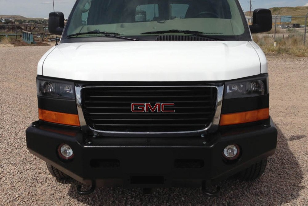 Bumper Cargo Truck : Buckstop chevy cargo van express no grill™ full