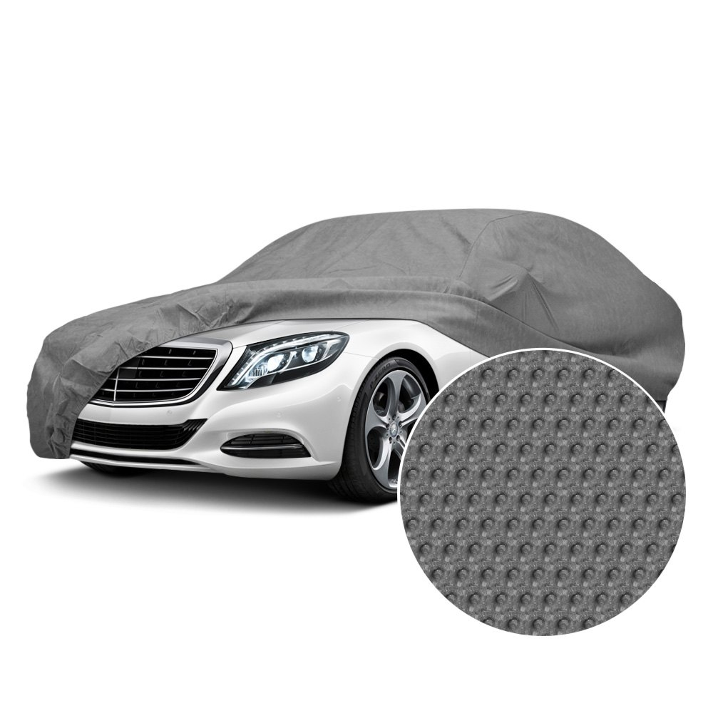 Waterproof Car Cover >> Details About Budge Srb 1 Rain Barrier Gray Car Cover