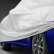 Budge® - Car Cover on Toyota