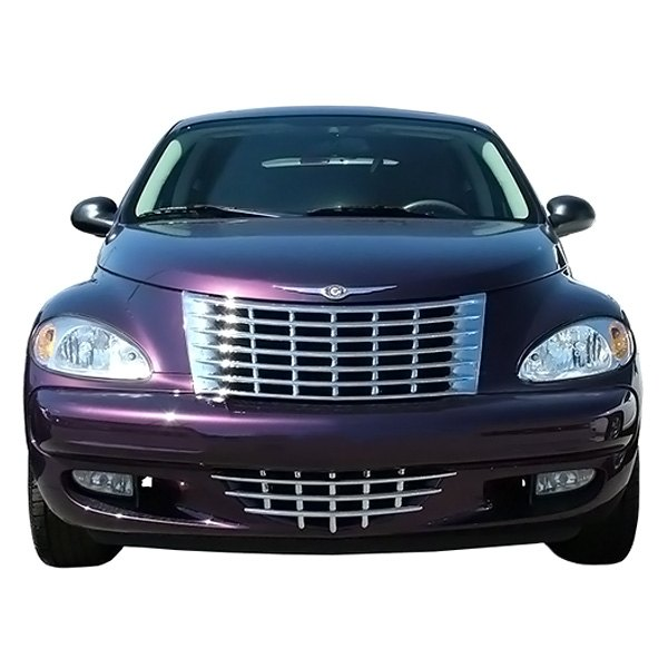 chrysler pt cruiser 01 05 grille kit 2 pc imposter series. Black Bedroom Furniture Sets. Home Design Ideas