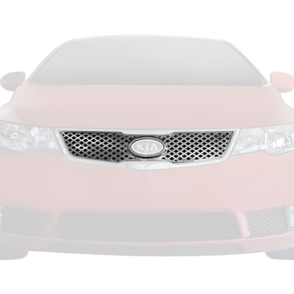 Bully GI-85 Chrome Quick Fit Grille Overlay