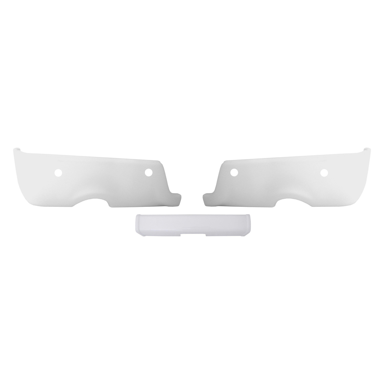 For Ram 1500 2011-2018 BumperShellz BR4010 Gloss White Rear Bumper Cover Set