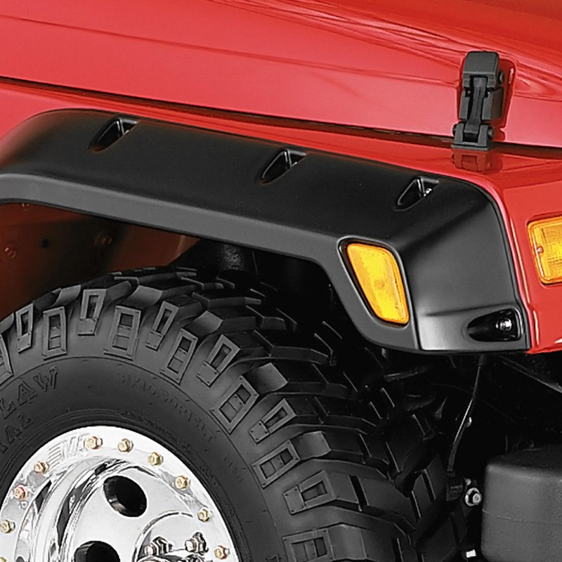 bushwacker jeep wrangler 1997 2003 pocket style fender flares. Cars Review. Best American Auto & Cars Review