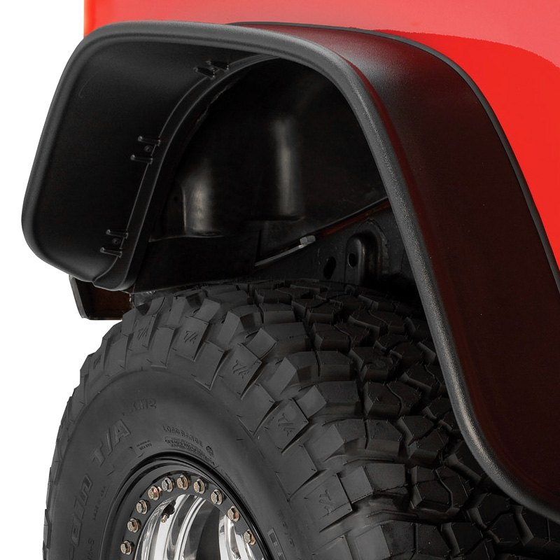 bushwacker jeep wrangler 1999 flat style fender flares. Cars Review. Best American Auto & Cars Review