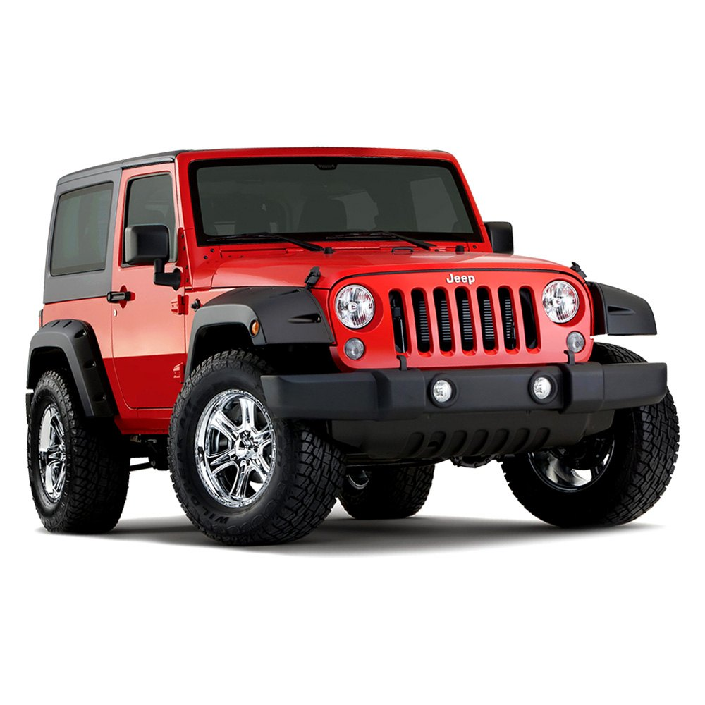 bushwacker jeep wrangler pocket style fender flares jk pictures to pin. Cars Review. Best American Auto & Cars Review