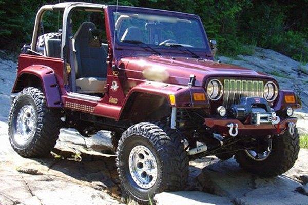 bushwacker jeep wrangler tj body code 2004 2006 pocket style fender flares. Black Bedroom Furniture Sets. Home Design Ideas
