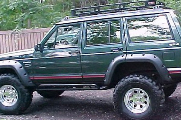 jeep cherokee sport utility 1984 2001 cut out fender flares. Cars Review. Best American Auto & Cars Review