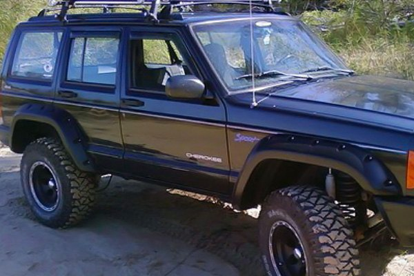 bushwacker xj cherokee fender - photo #7