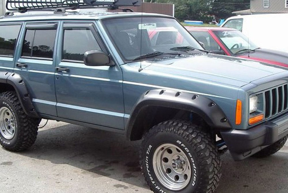 bushwacker xj cherokee fender - photo #5