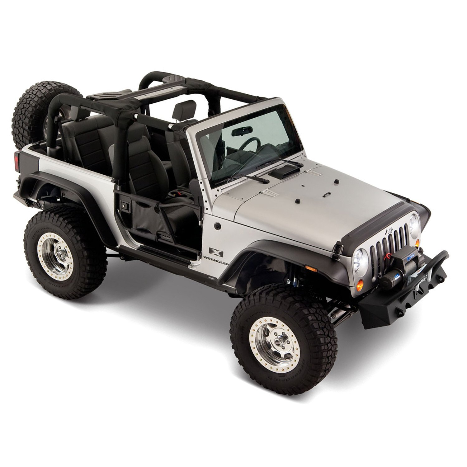 jeep wrangler sport utility 2009 flat style fender flares. Cars Review. Best American Auto & Cars Review