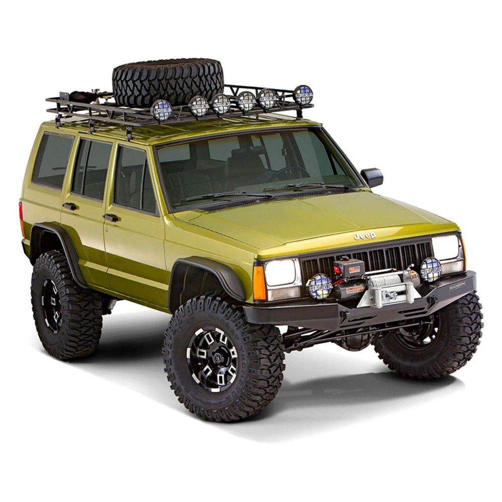 1999 Jeep Wrangler Fenders: Jeep Cherokee 1999 Flat Style Fender Flares