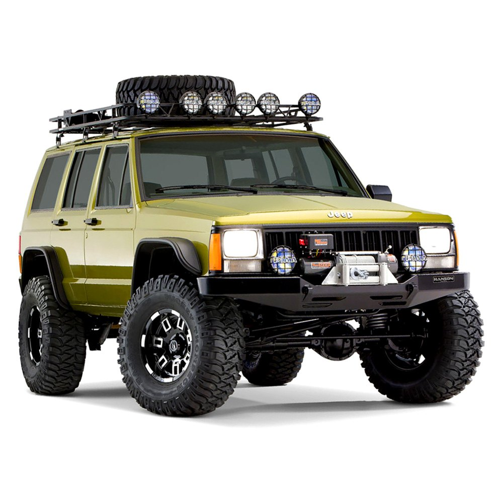 Jeep Cherokee 2001 Flat Style Fender Flares