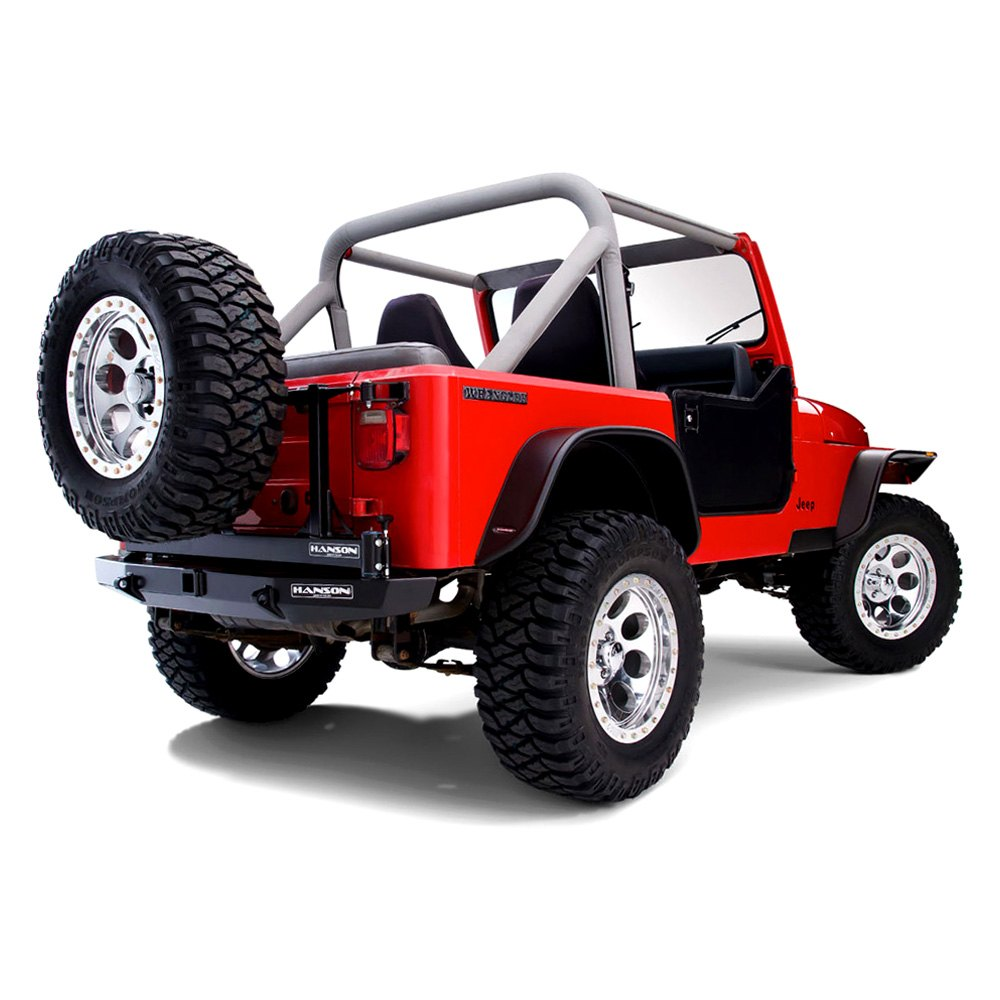 bushwacker jeep wrangler 1987 1995 flat style fender flares. Cars Review. Best American Auto & Cars Review