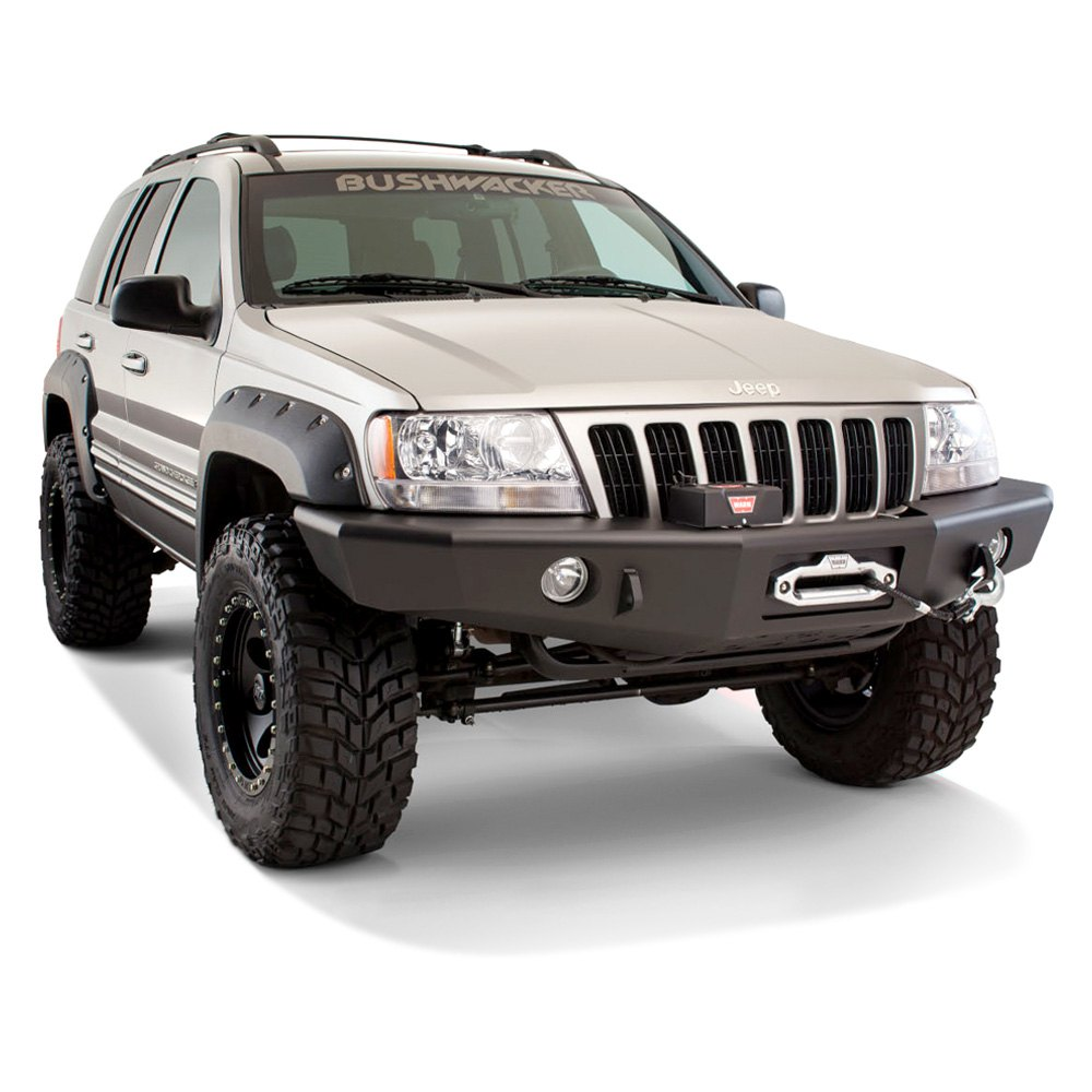 bushwacker jeep grand cherokee 1999 2004 cut out fender flares. Cars Review. Best American Auto & Cars Review