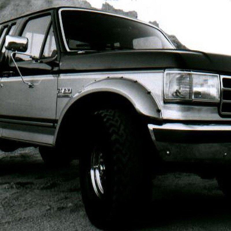 bushwacker ford bronco 1989 1990 cut out fender flares. Black Bedroom Furniture Sets. Home Design Ideas
