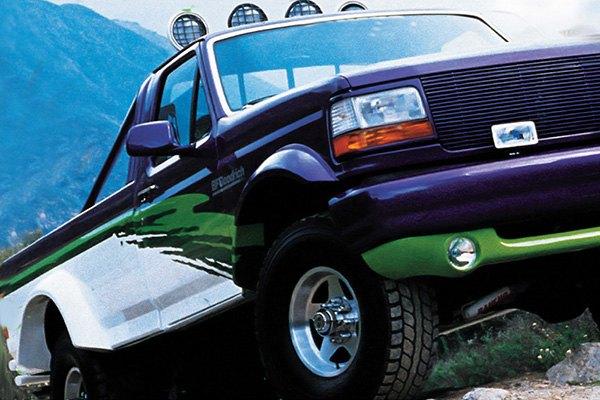 bushwacker ford bronco 1994 cut out fender flares. Black Bedroom Furniture Sets. Home Design Ideas