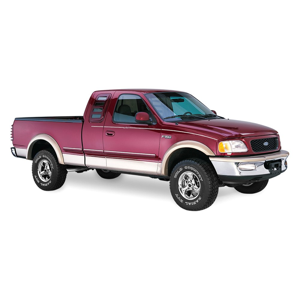 bushwacker ford f 150 2004 extend a fender fender flares. Black Bedroom Furniture Sets. Home Design Ideas