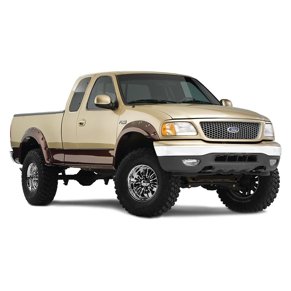 bushwacker ford f 150 heritage 2004 cut out fender flares. Black Bedroom Furniture Sets. Home Design Ideas