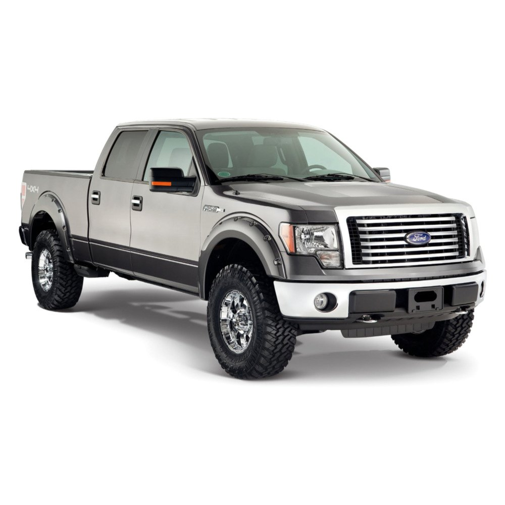 bushwacker ford f 150 2011 pocket style fender flares. Black Bedroom Furniture Sets. Home Design Ideas