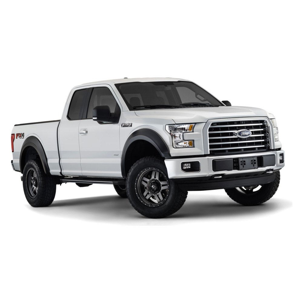 bushwacker ford f 150 2015 2017 extend a fender fender. Black Bedroom Furniture Sets. Home Design Ideas