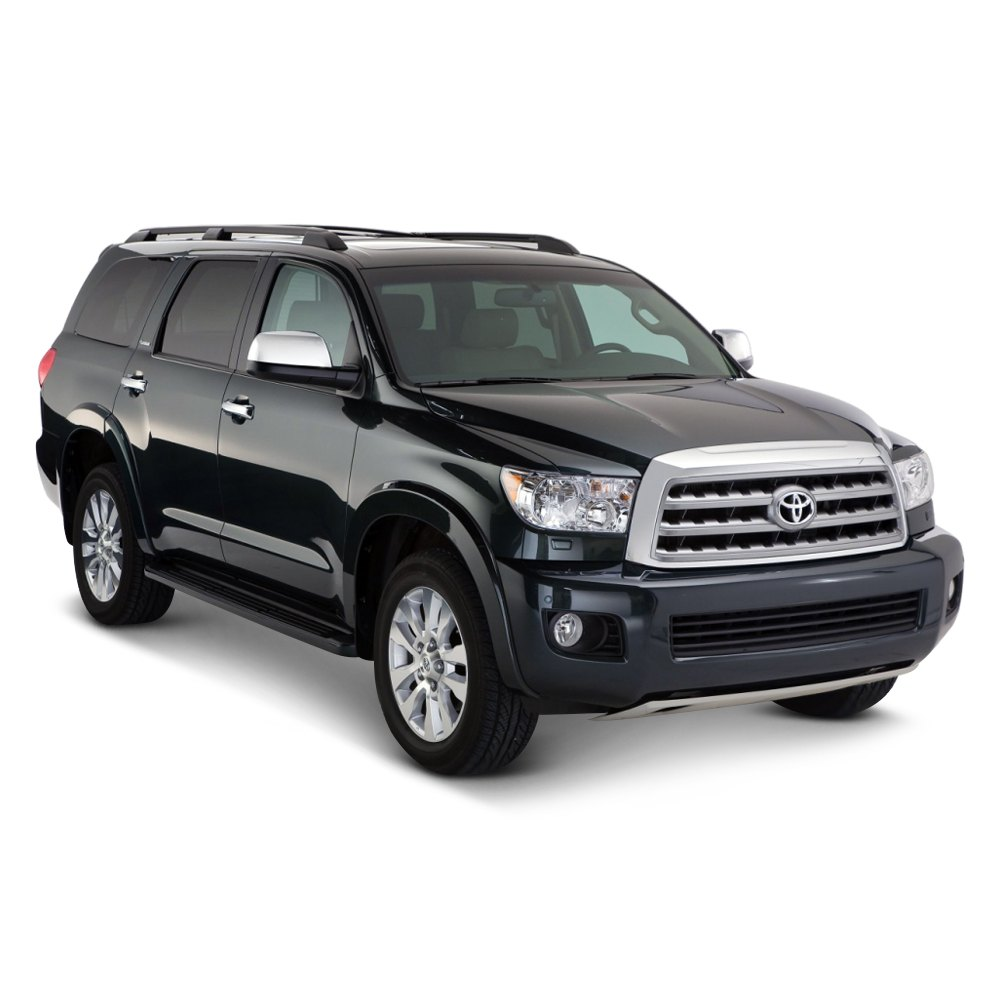 bushwacker 30912 02 toyota sequoia with factory mudflap. Black Bedroom Furniture Sets. Home Design Ideas