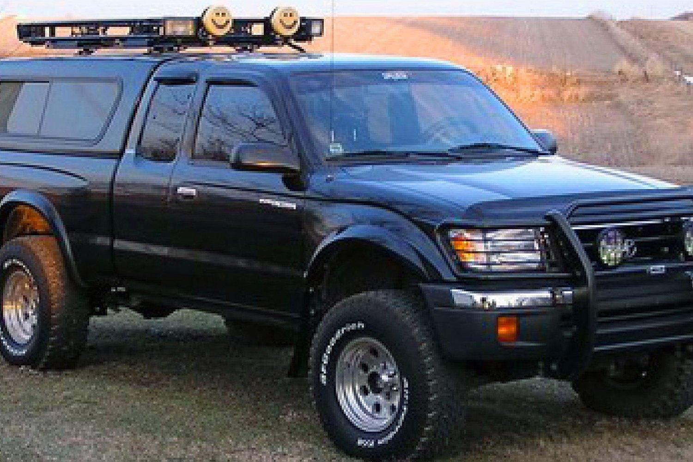 Bushwacker 174 Toyota Tacoma 4wd 2001 2003 Extend A Fender
