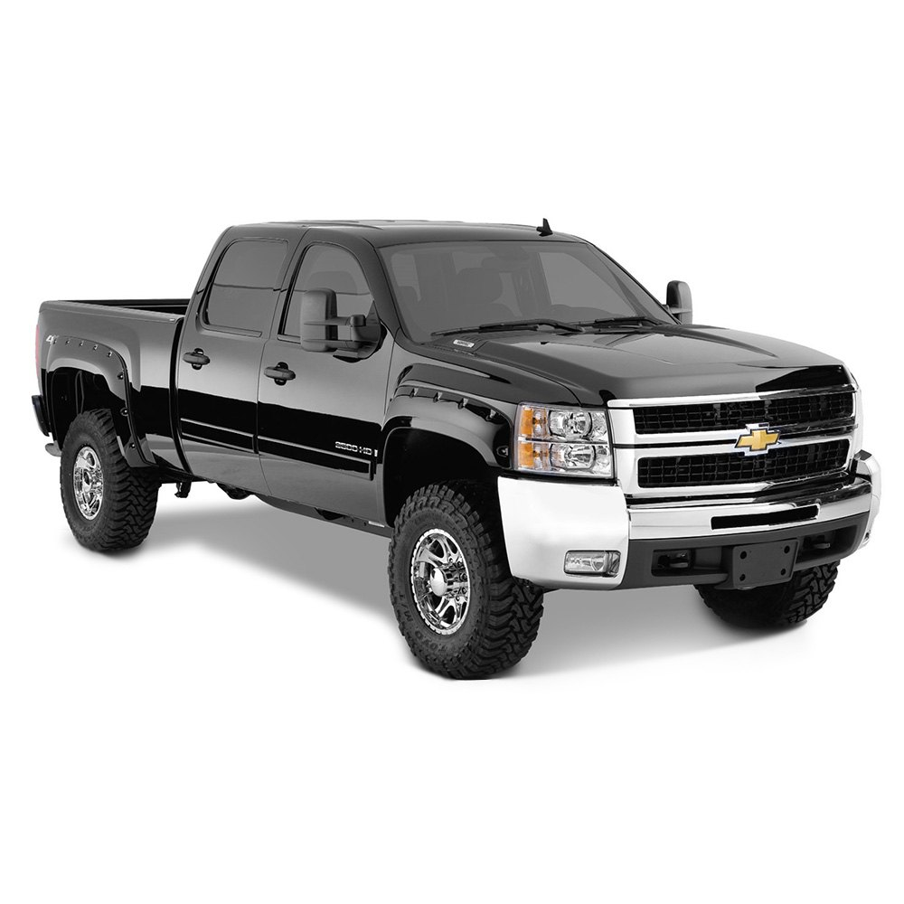 Chevy Truck Accessories Superstore >> Bushwacker® - Pocket Style Fender Flares (Front and Rear Set)