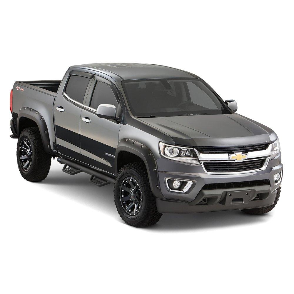 Colorado Chevy Price Bushwacker® - Chevy Colorado 2017 Pocket Style™ Front and ...