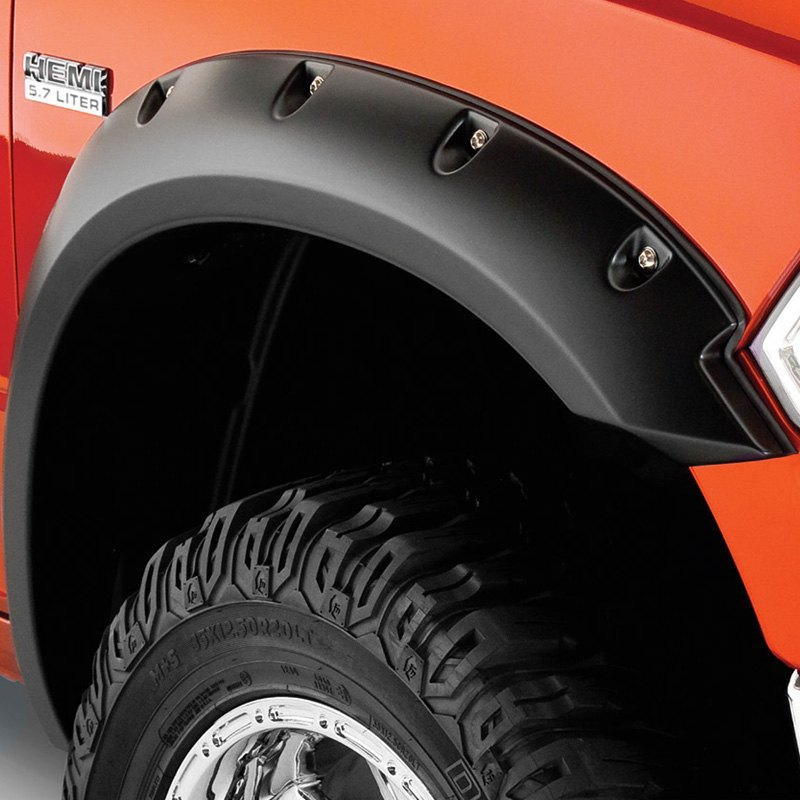 bushwacker dodge ram 2011 2016 pocket style fender flares. Cars Review. Best American Auto & Cars Review