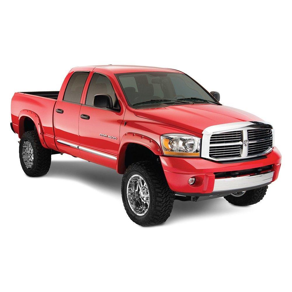 Dodge Truck Fenders : Bushwacker dodge ram pocket style™ fender flares