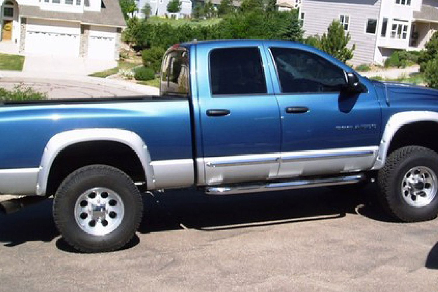 50907 02 pocket style front and rear set fender flares 2002 dodge ram. Cars Review. Best American Auto & Cars Review