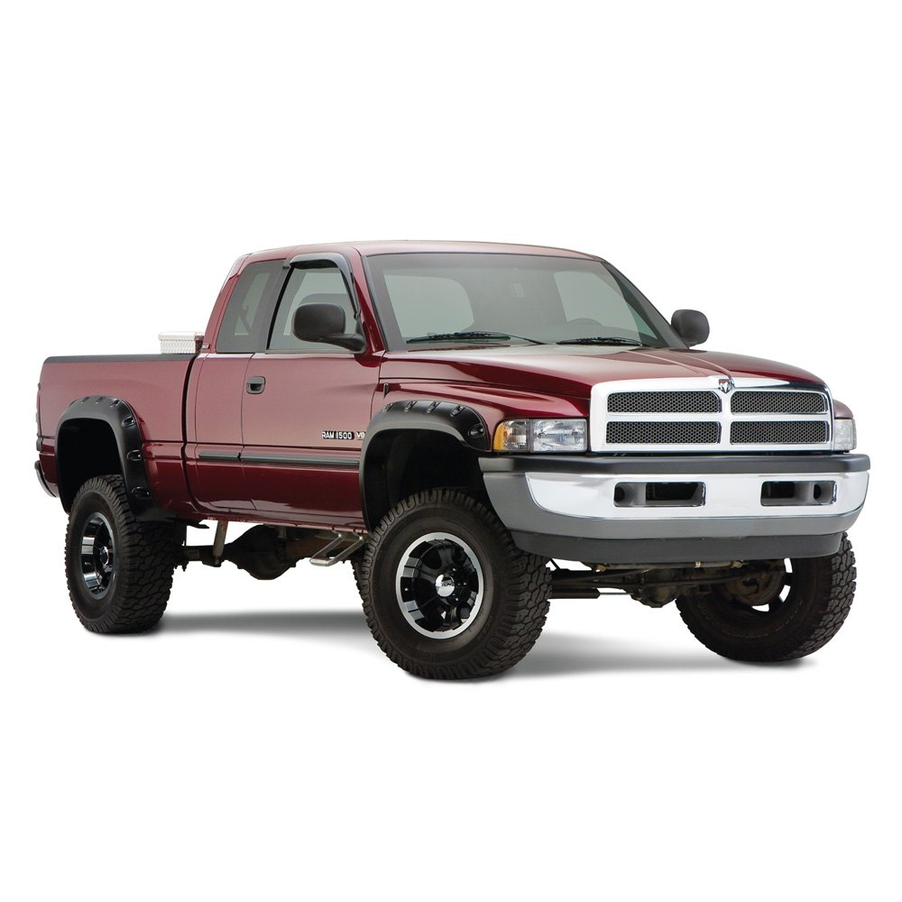 02 dodge ram 1995 1996 front and rear pocket style fender flares. Cars Review. Best American Auto & Cars Review