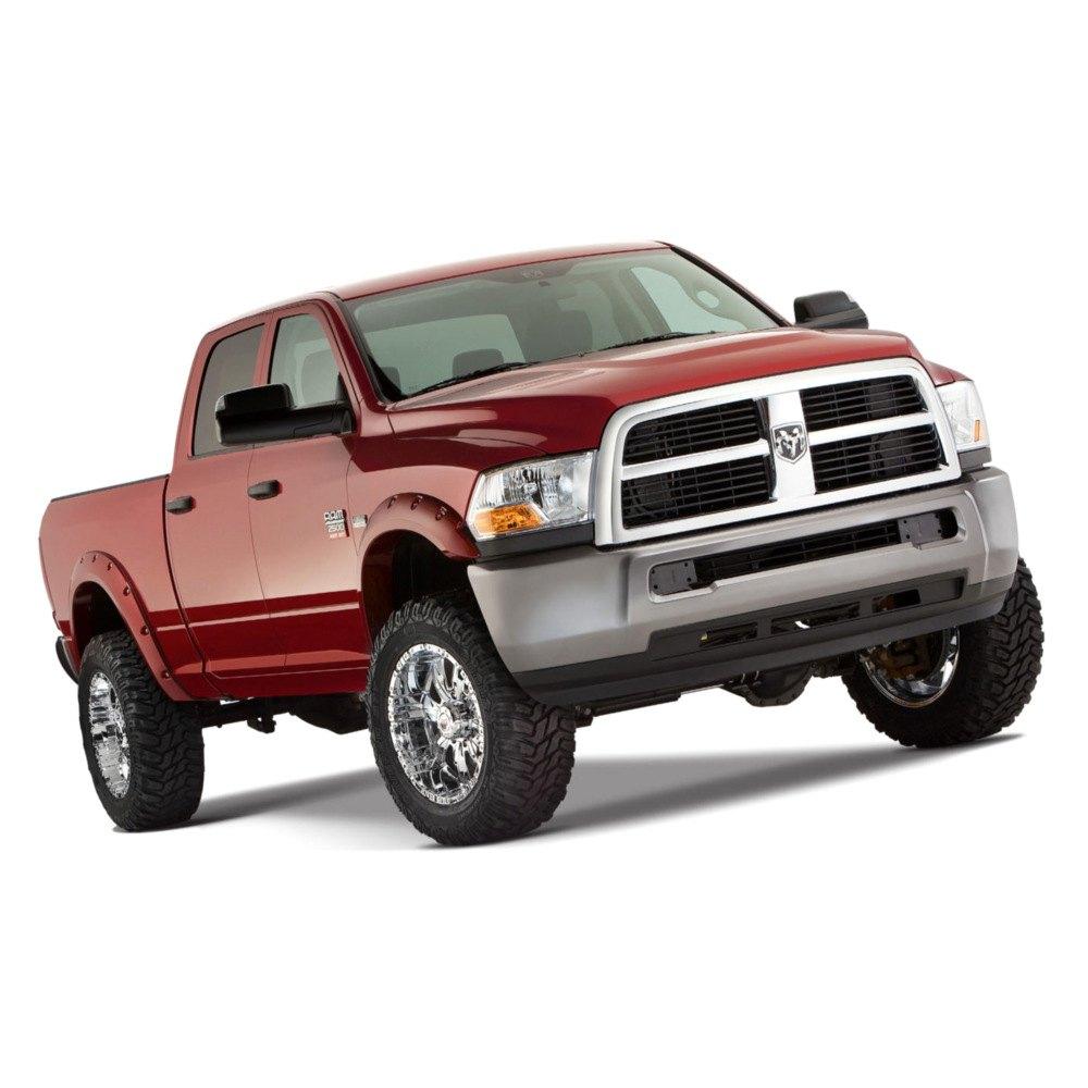 Dodge Truck Fenders : Bushwacker dodge ram fleetside pocket style